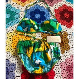 VTG 60s Deadstock Bikini Swimsuit Set